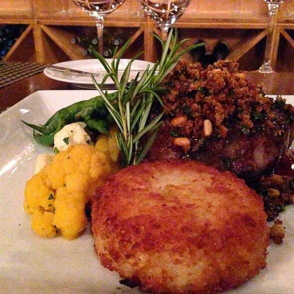 Grilled Lamb Porterhouse - Olive and Vine - Glen Ellen, Glen Ellen, CA