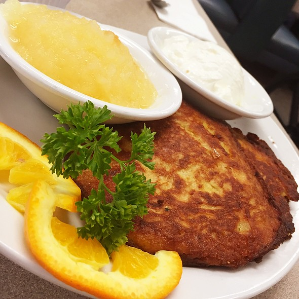 Potato Latkes @ D.Z. Akin's Restaurant