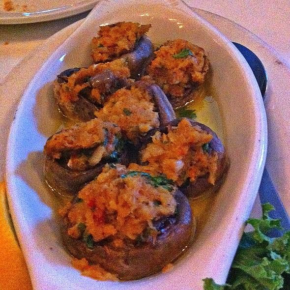 crab stuffed mushrooms @ The Tree Steakhouse