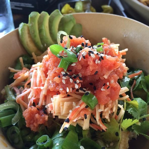 rice bowl @ Dynomite Burgers & Sushi