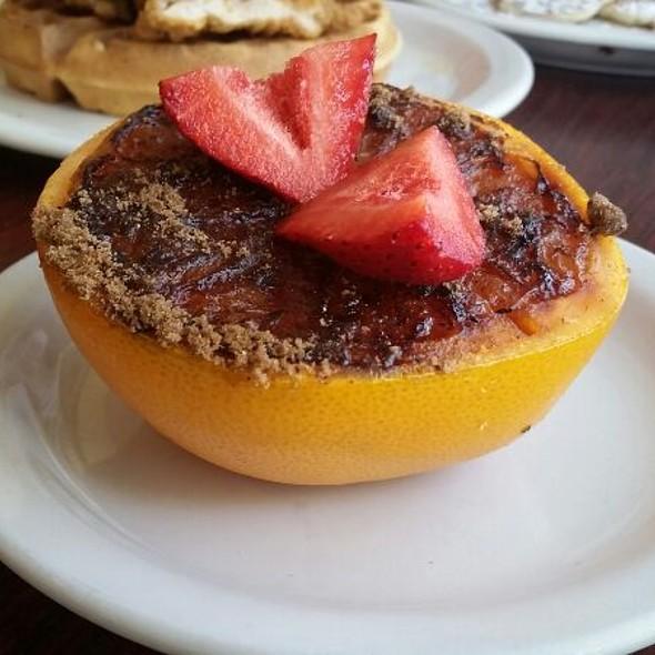 Broiled grapefruit @ The Hummingbird