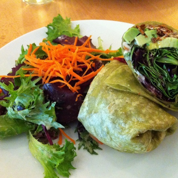 Spicy Blt Wrap @ Real Food Daily