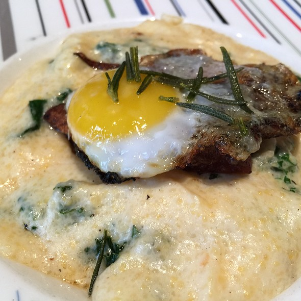 Crispy Braised Pork Belly & Fried Egg - Skinner's Loft, Jersey City, NJ