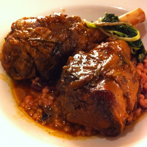 Braised Lambshank @ David Burke Prime Steakhouse