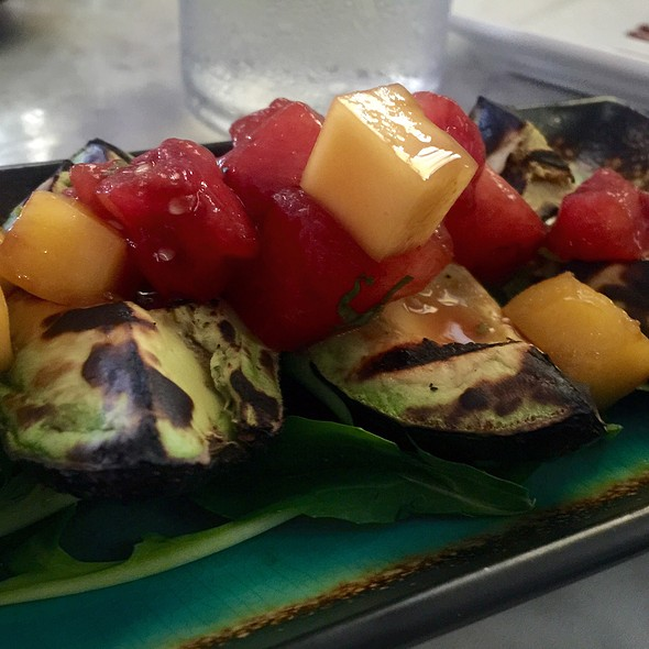 Grilled Avocado Watermelon Mango Salad @ Avocado Grill