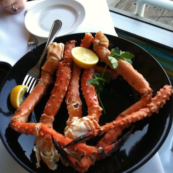 Alaskan King Crab Legs - Peohe's - Coronado Waterfront Restaurant, Coronado, CA