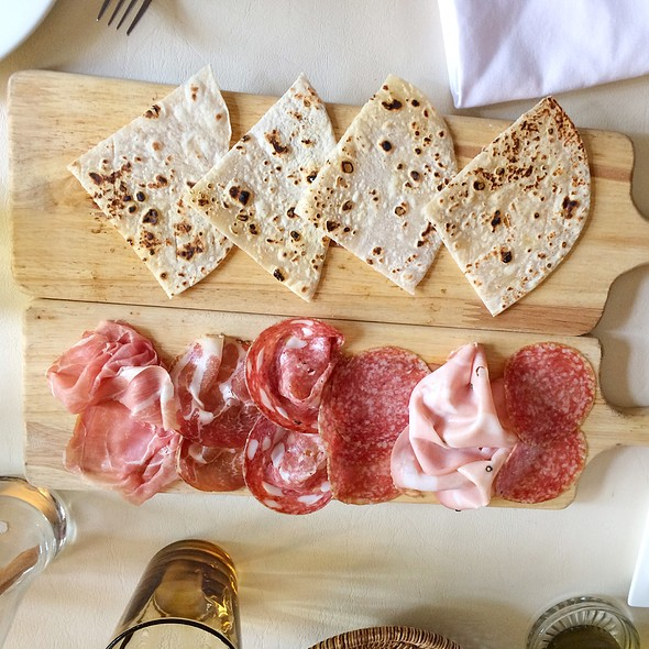 Assorted Cold Cuts @ Bacco–Osteria da Sergio