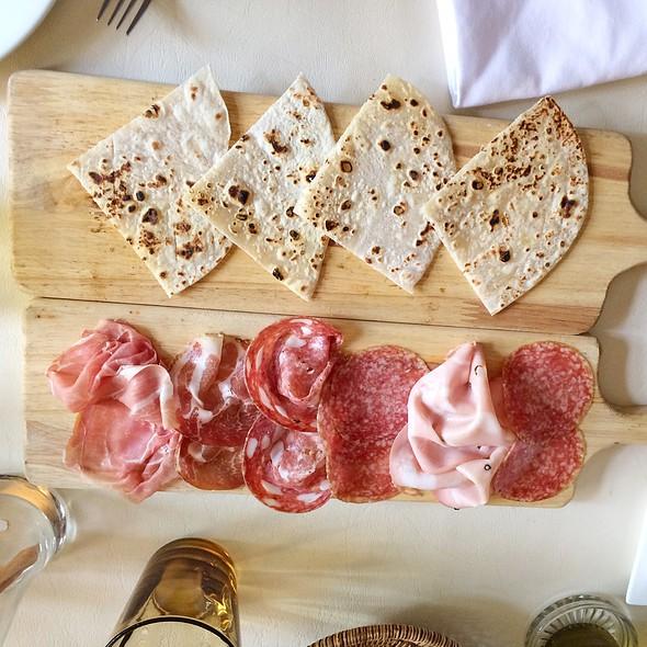 Assorted Cold Cuts @ Bacco–Osteria da Sergio