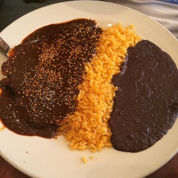 Mole Rojo De Pollo  - Noche Mexicana, New York, NY