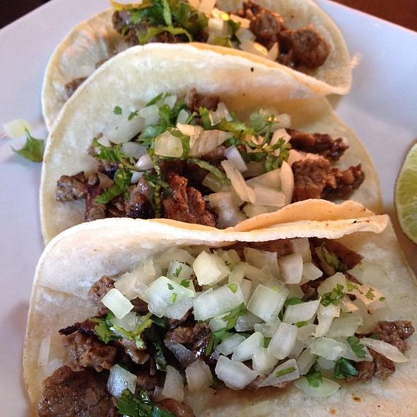 Beef Tacos @ The Mexzican Gourmet