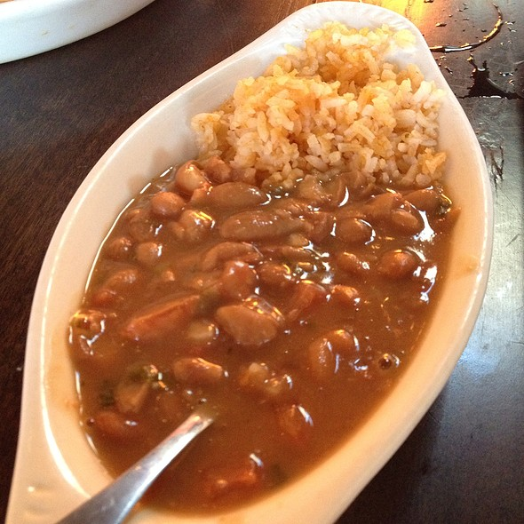 Pinto Beans And Rice @ The Mexzican Gourmet