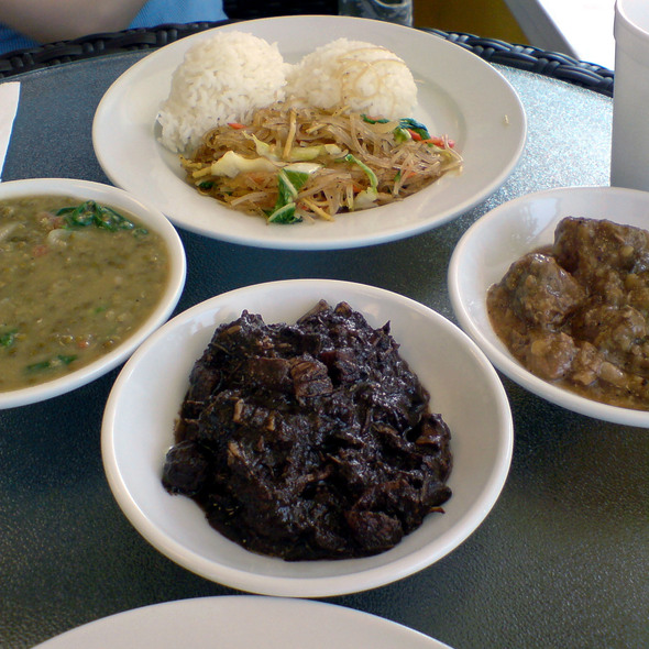 Side Dishes @ Tina's Kusina