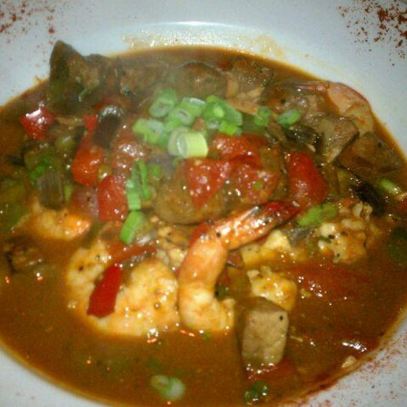 Shrimp and Grits - Mr. John's Steakhouse, New Orleans, LA