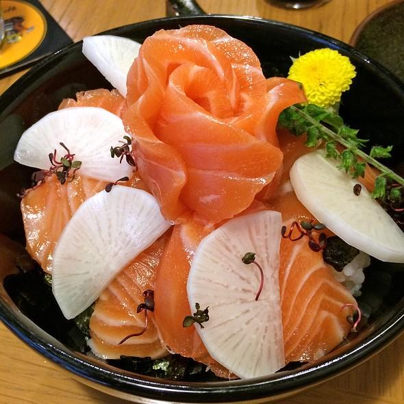 Salmon Don @ Ryu Jin Sushi & Sake Bar