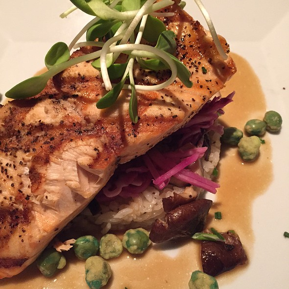 Grilled Salmon - Lucas Park Grille, St. Louis, MO
