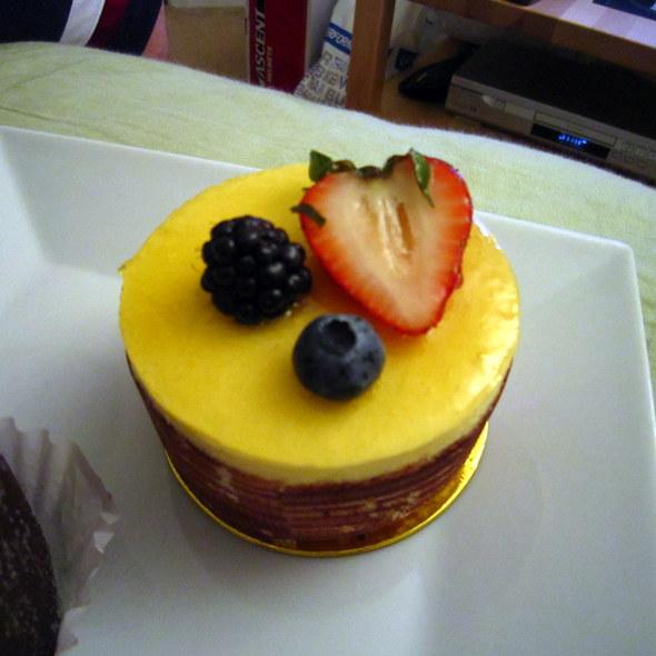 Passion Fruit Cake @ Patisserie Poupon