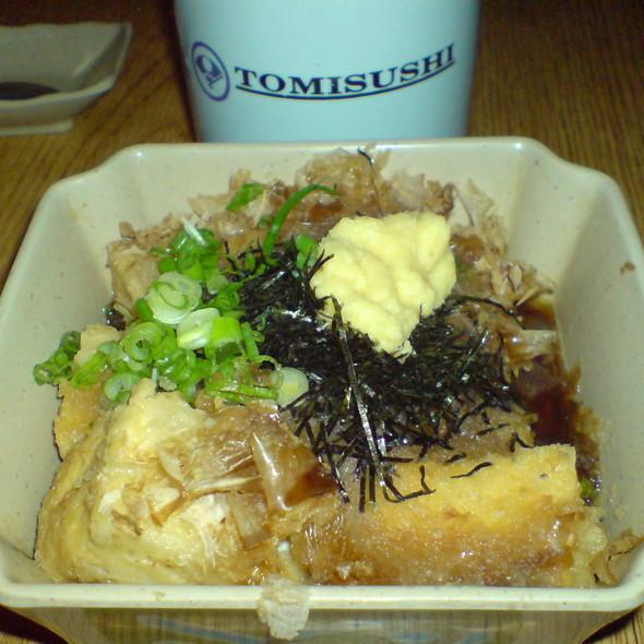 Agedashi Tofu @ Tomisushi Restaurant