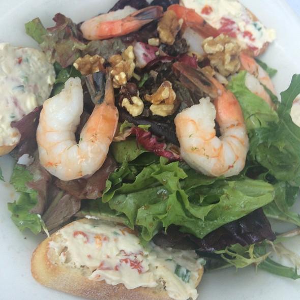 shrimp salad - The English Inn, Eaton Rapids, MI