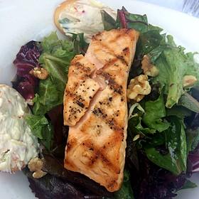 Salmon salad - The English Inn, Eaton Rapids, MI