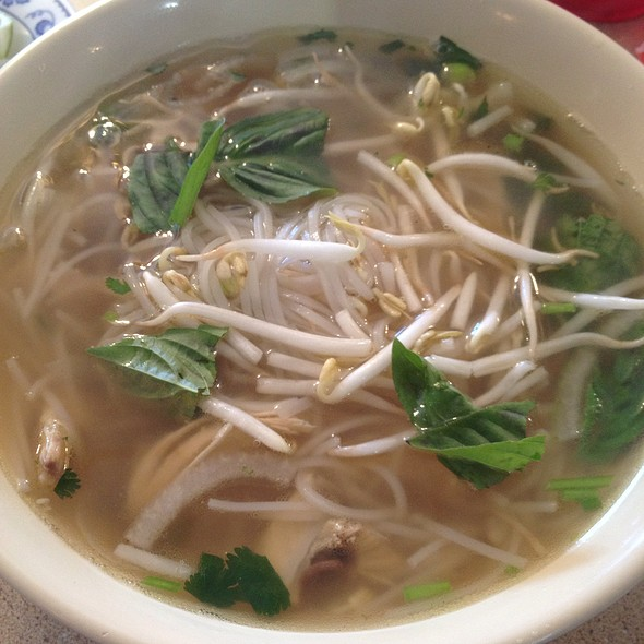 Chicken Rice Noodle Soup @ Pho Thang Restaurant