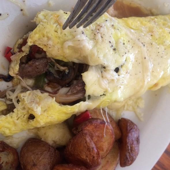Tri Tip Omelet @ Harvest Moon Restaurant