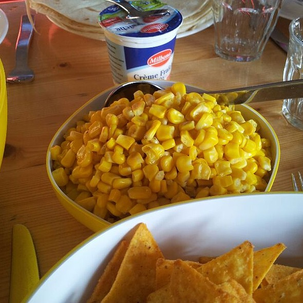 Corn And Creme Fraiche