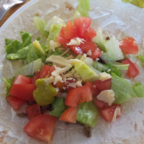 Make your own burrito