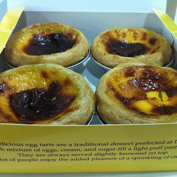 Portuguese Egg Tarts @ Lord Stowe's Bakery