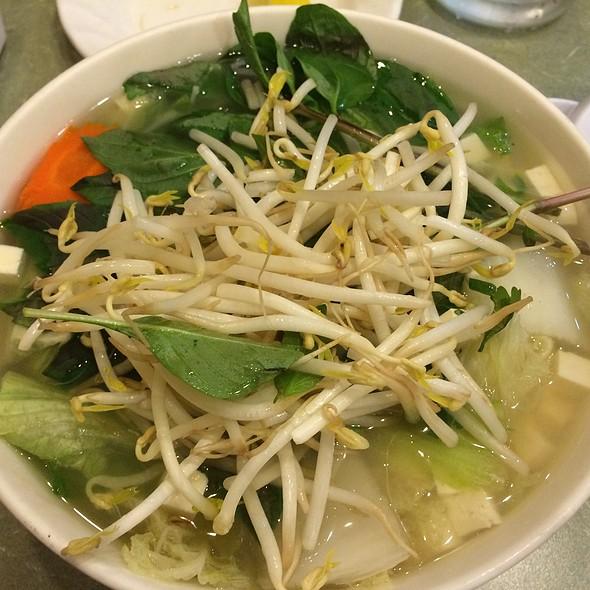 Tofu & Veggie Pho With Vegetarian Broth @ Pho Kitchen