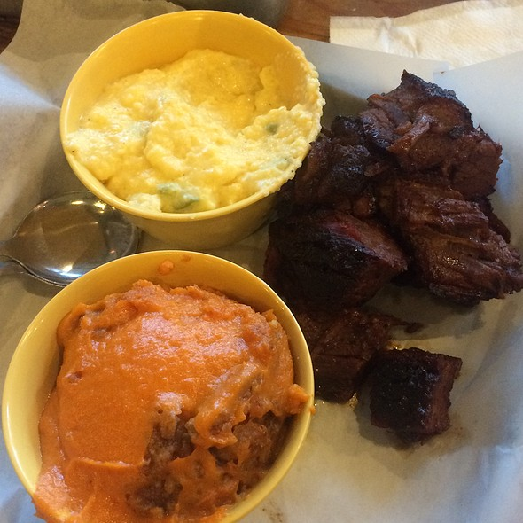 Burnt Ends. @ Sauced BBQ & Spirits
