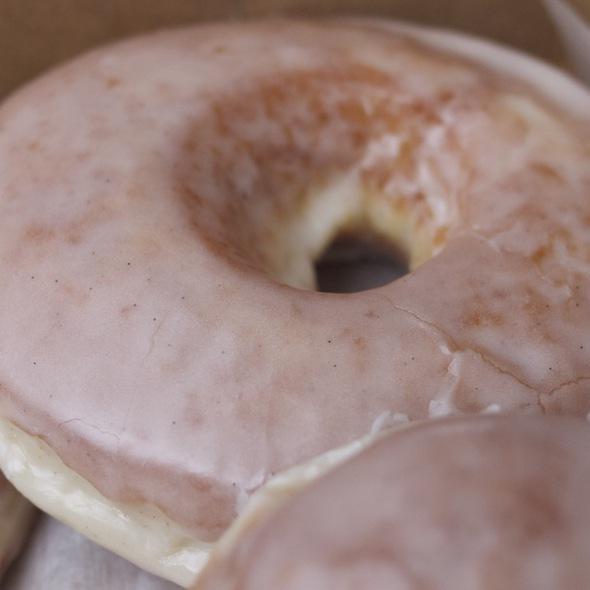 Vanilla Glazed Doughnut @ Doughnut Vault
