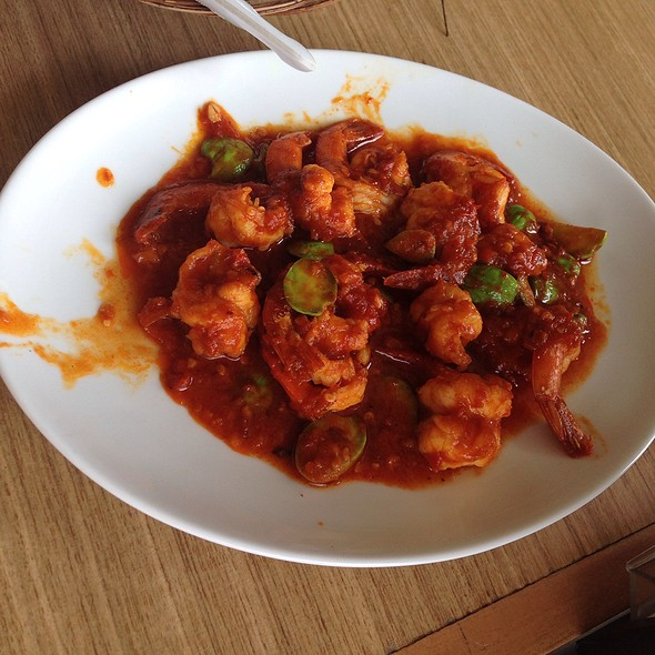 Udang Tumis Pete