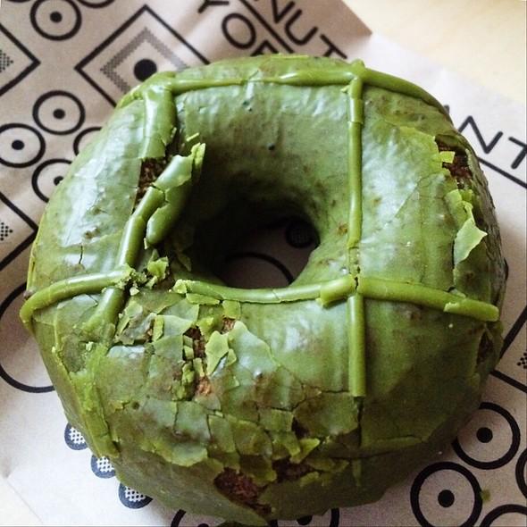 Matcha Green Tea Cake Doughnut @ Doughnut Plant