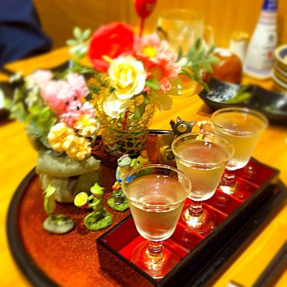 お酒セット @ Gin蔵