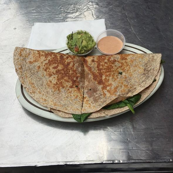 Vegan Quesedilla Grange @ Benny's Burritos