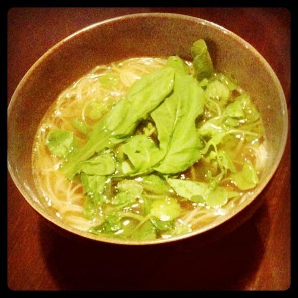 Clam Soup Pasta @ Oz's Kitchen