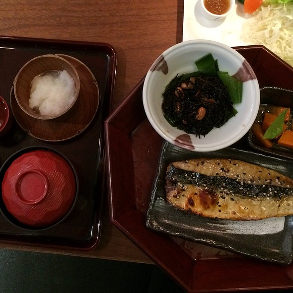 Japanese Style Grilled Fish Set at Ootoya (Orchard Central)
