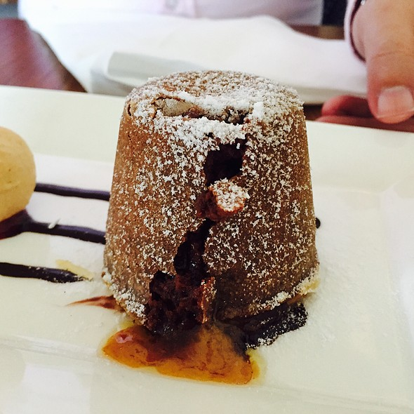 Chocolate Fondant With Caramel Core @ The White Rabbit