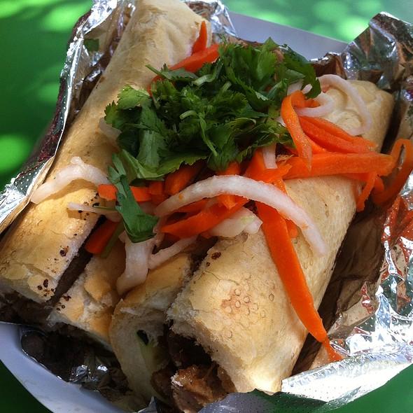 Honey Grilled Pork Banh Mi  @ Nammi Truck