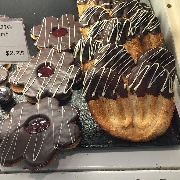 Chocolate Linzer and Chocolate Elephant Ear Cookies