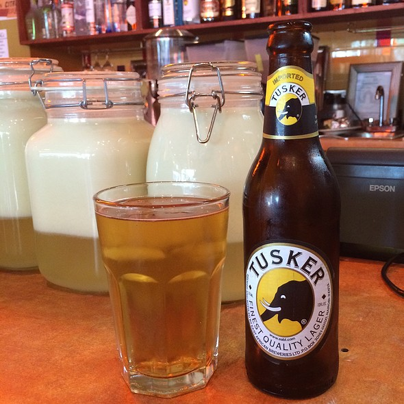 Tusker Kenyan Lager - Bissap and Little Baobab, San Francisco, CA