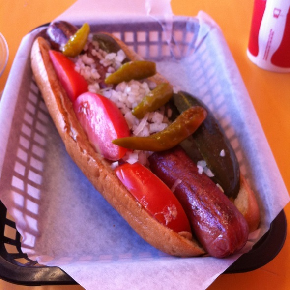 Big Chicago Dog @ The Grill