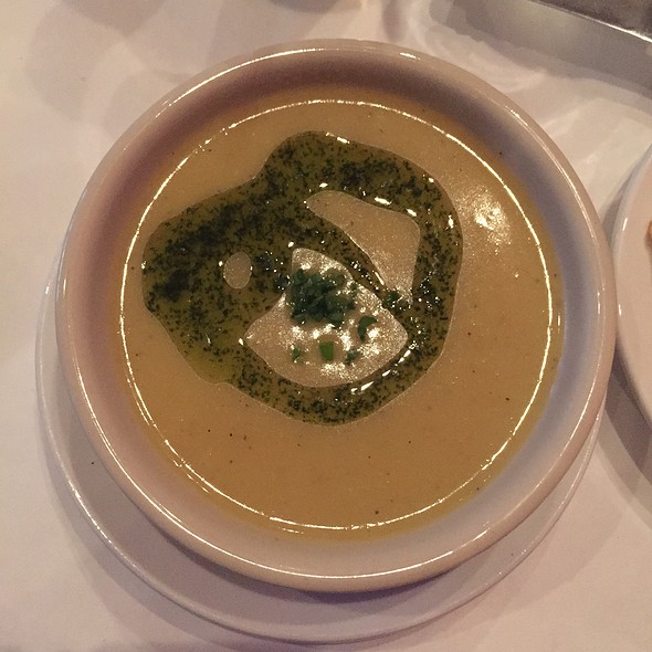 Leek & Potato Soup With Tarragon Oil - Coquette Cafe -  Permanently Closed, Milwaukee, WI