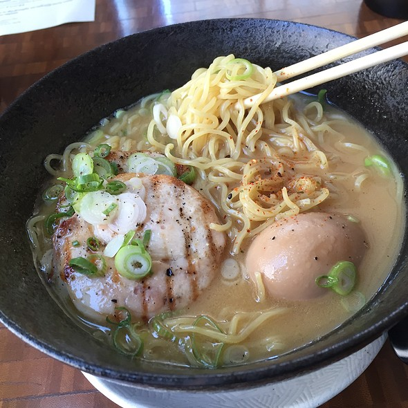 Nojo Ramen With Grilled Confit Chicken