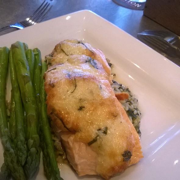 Parmesan Crusted Salmon @ Whetstone Station