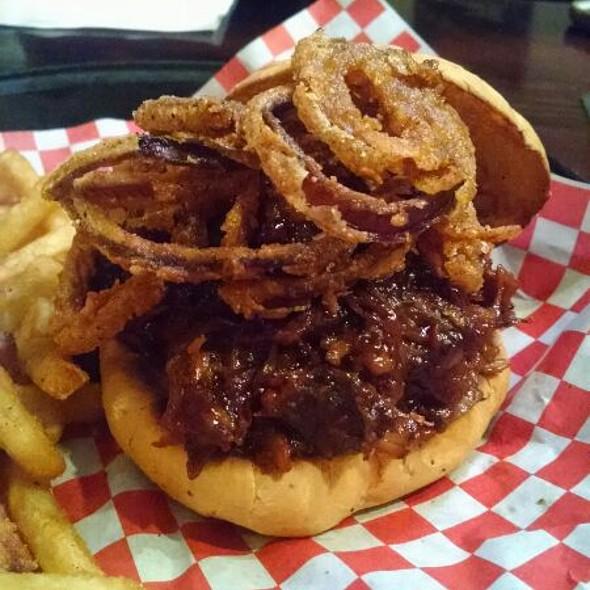 Pulled BBQ Pork Sandwich  @ Big Dog's Draft House