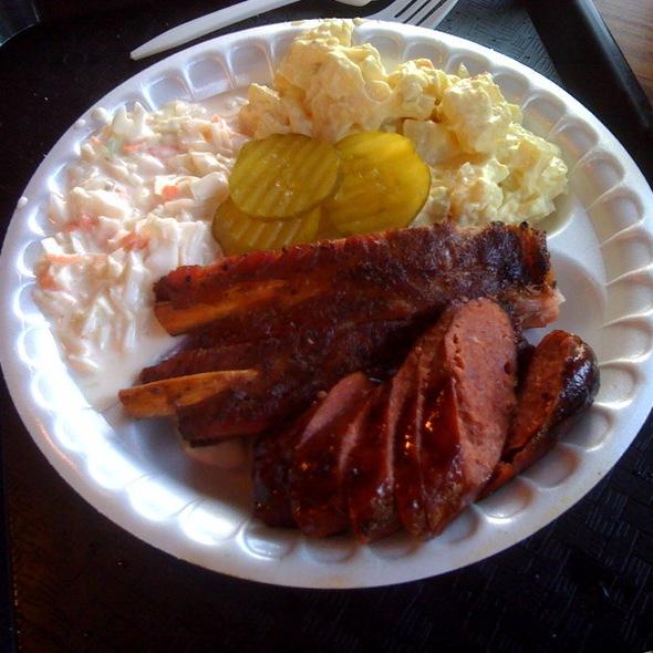 Sausage and Ribs