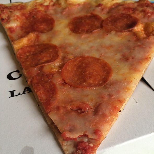 Pepperoni Pizza @ Carmine's Gourmet Market