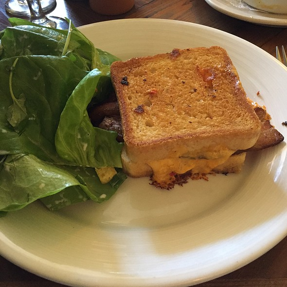 Pimento Grilled Cheese With Bacon @ Revival