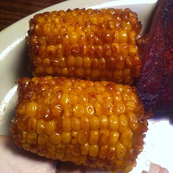 Fried Corn On The Cob @ Sticky Fingers
